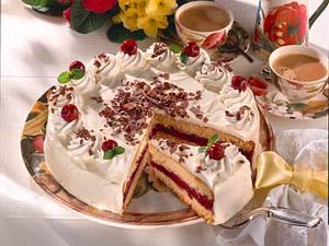 Festliche Kirsch-Mascarpone-Torte Rezept