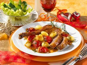 Festlicher Gänsebraten auf Italienische Art Rezept