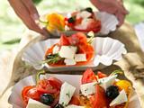 Feta-Gemüse-Päckchen Rezept