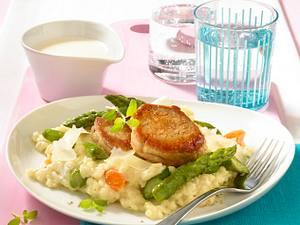 Fettucchini mit Spargel-Kerbel-Ragout Rezept