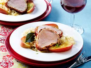 Filet Mignon mit Senf und Speck aus dem Ofen Rezept