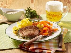 Filetsteak mit Pfefferrahmsoße Rezept