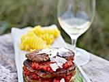 Filetsteaks mit Tomatentatar und Spinatrahm Rezept