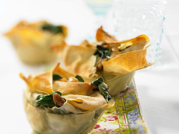 Filo-Muffins Rezept
