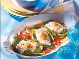 Fisch auf Gemüse Rezept