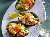 Fisch-Tatar mit Avocado Rezept