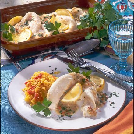 Fischfilet im Tontopf auf portugiesische Art Rezept