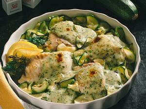 Fischfilet mit Kräuter-Hollandaise Rezept