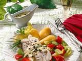 Fischfilet mit Senf-Kapern-Soße Rezept