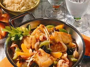 Fischhappen süß-sauer Rezept