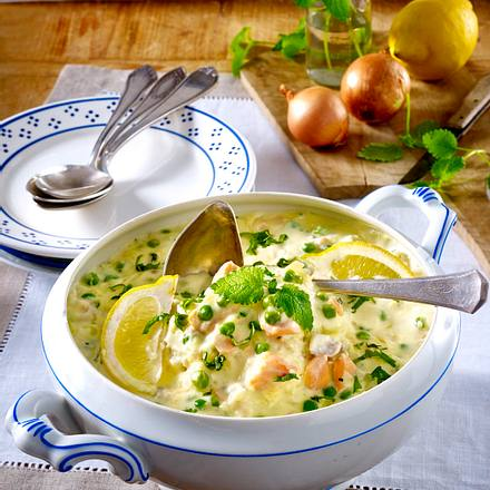 Fischragout in Zitronenrahm Rezept