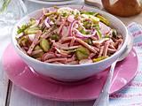 Fixer Leberkäs'-Salat Rezept
