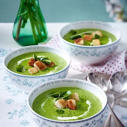 Fixes Brokkoli-Bresso-Süppchen Rezept