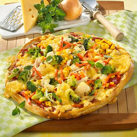 Fladenbrot-Pizza Rezept