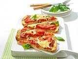 Fladenbrot Pizza Margherita Rezept