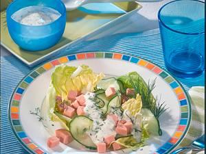 Fleischwurst-Gurkensalat Rezept
