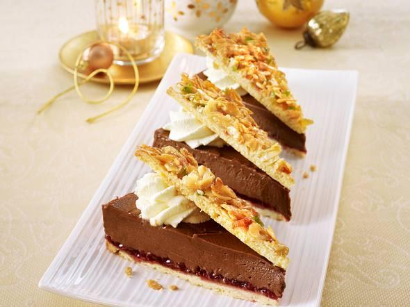 Florentiner-Nougat-Torte Rezept