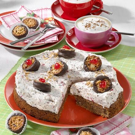 Florentiner-Schoko-Kuchen Rezept