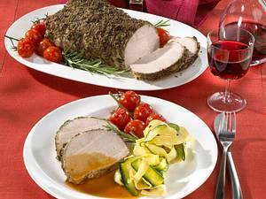 Florentiner Schweinekräuterbraten Rezept
