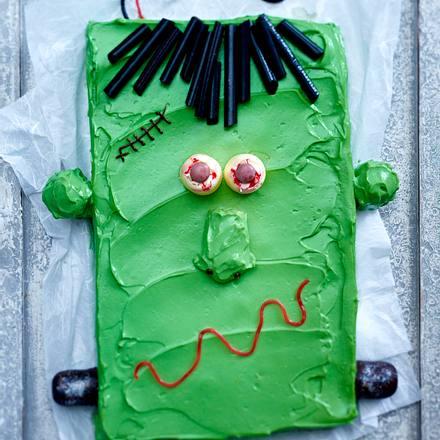 Frankenstein-Kuchen Rezept
