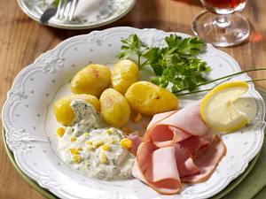 Frankfurter Grüne Soße zu Kasseler Rezept