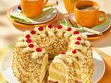 Frankfurter Kranz mit Buttercreme und Krokant Rezept