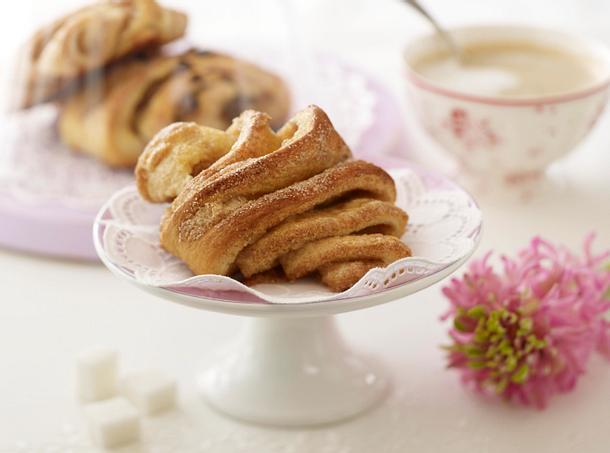 Franzbrötchen (süße Brötchen) Rezept