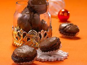 Französische Schokoladen-Makronen Rezept