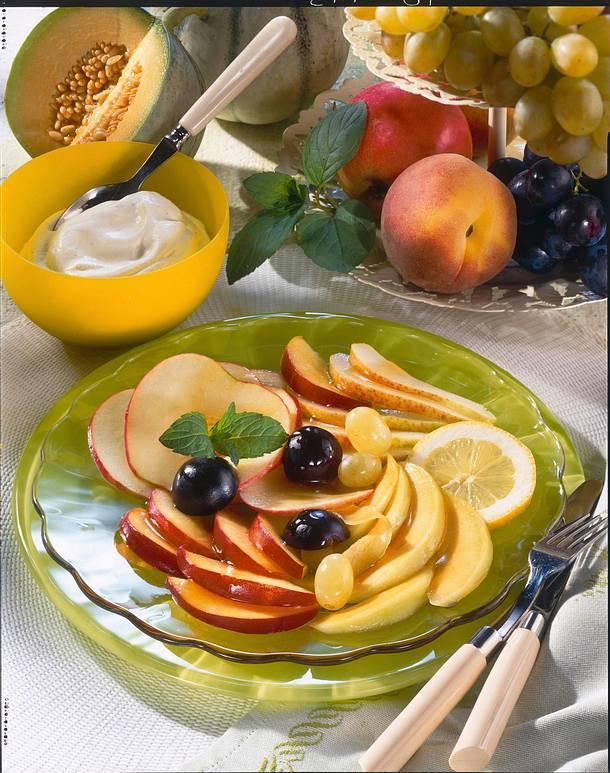 Französischer Früchteteller Rezept