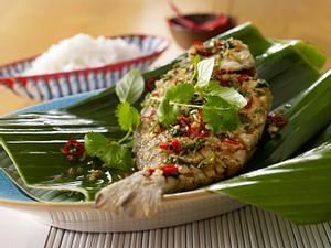 Fried Fish mit Chili Rezept