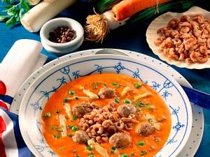 Friesische Krabbensuppe Rezept