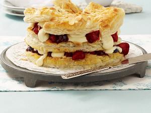 Friesische Mandel-Puddingtorte Rezept