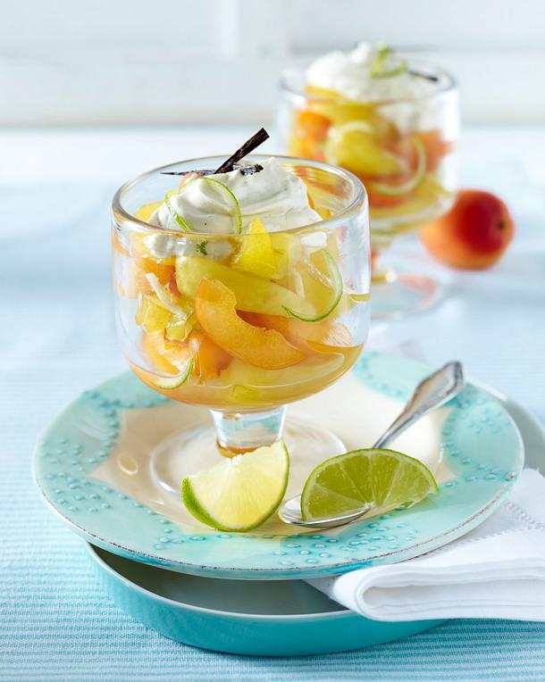 Frische Früchte mit Vanillejoghurt Rezept