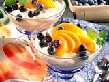 Frischkäse-Creme mit Früchten Rezept