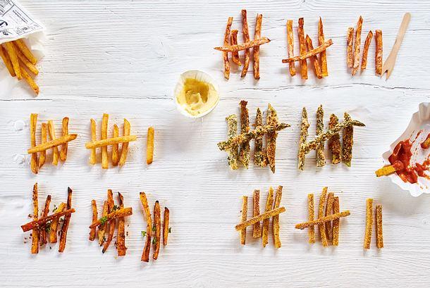 Süßkartoffel-Fritten Rezept