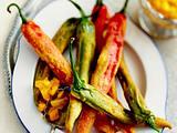 Frittiertes Gemüse im Teigmantel – Hot-Pepper-Pakora Rezept