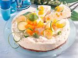 Fruchtige Mandarinen-Quark-Torte Rezept