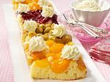 Fruchtige Party-Kuchen Rezept
