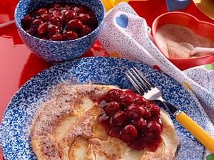 Fruchtige Pfannkuchen Rezept