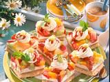 Fruchtige Saure-Sahne-Schnitten Rezept