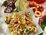 Fruchtiger Eisberg-Puten-Salat Rezept