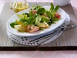 Fruchtiger Feldsalat mit Birne und Kasseler Rezept