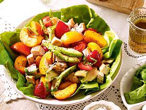 Fruchtiger Geflügelsalat Rezept