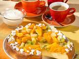Fruchtiger Käsekuchen mit Baiser-Bröseln Rezept