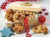 Früchtekuchen-Schoko-Cookies Rezept