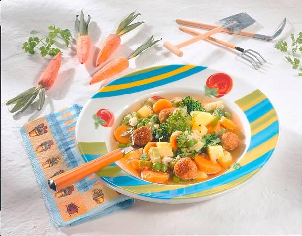 Frühlings-Gemüsesuppe Rezept