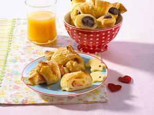 Frühstücks-Hörnchen Rezept
