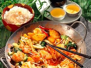 Garnelen & Gemüse aus dem Wok Rezept