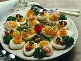 Garnierte Eier Rezept