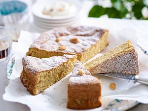 Gató de almendra (Mallorquinischer Mandelkuchen) Rezept